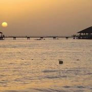 Coucher de soleil à Saly
