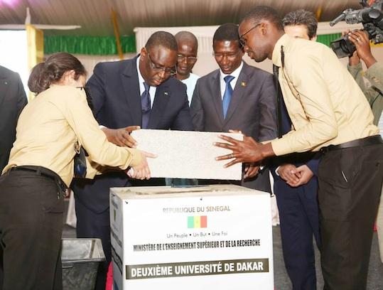 La deuxième université de Dakar sera livrée dans 24 mois