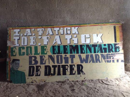 L'Ecole Verte - Djifer : site pilote
