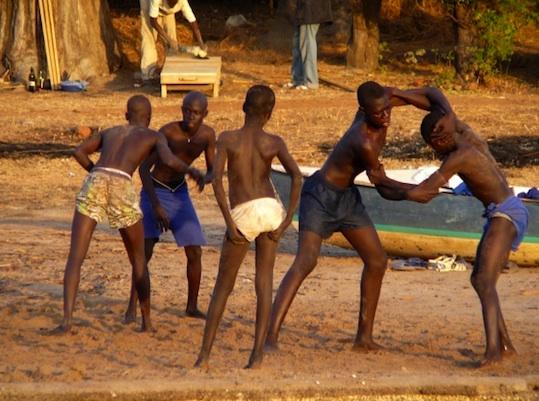 Impact de la lutte sénégalaise sur l'école à Djilor Saloum