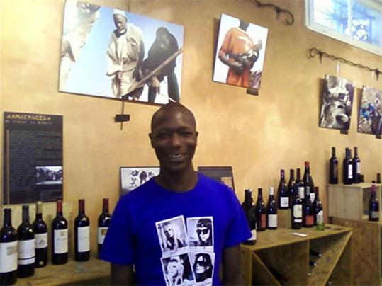 Mokhsine Diouf, le vin, c'est sa passion