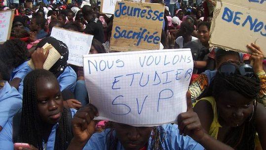 Pas de Sénégal émergent sans un système éducatif de qualité!