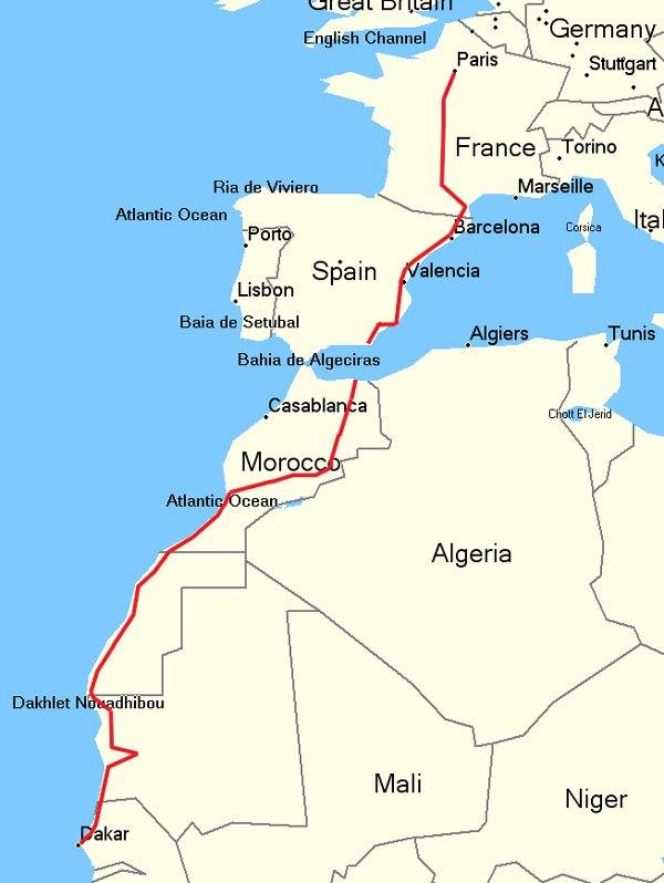 Paris - Dakar par la route : aux frontières du racket